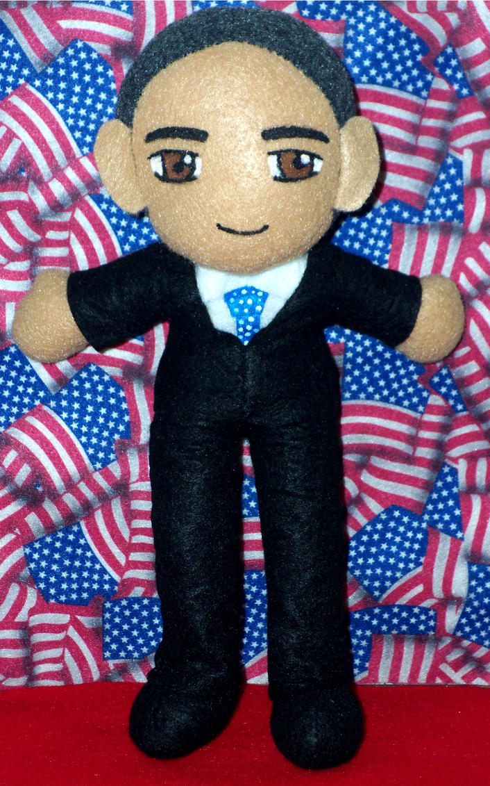 President Barack Obama by TashaAkaTachi