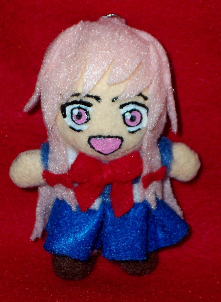 Mini Yuno Gasai Keychain Plush by TashaAkaTachi