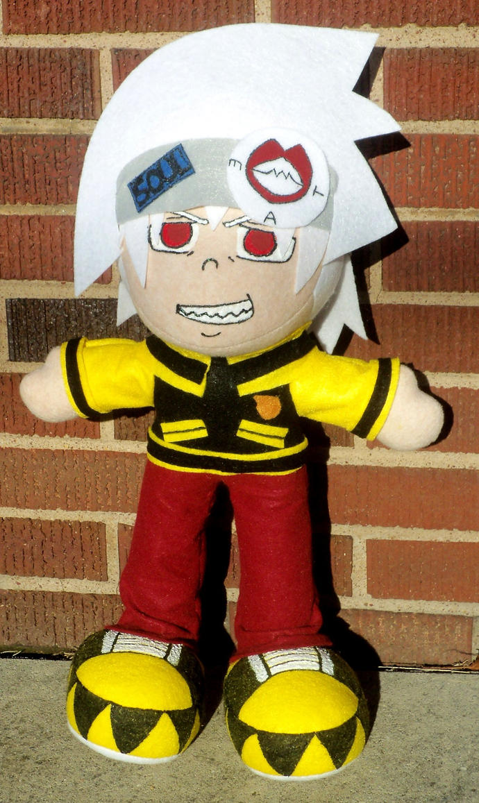 Huge Soul Evans Plushie by TashaAkaTachi