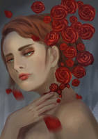 Red Roses by adnap23