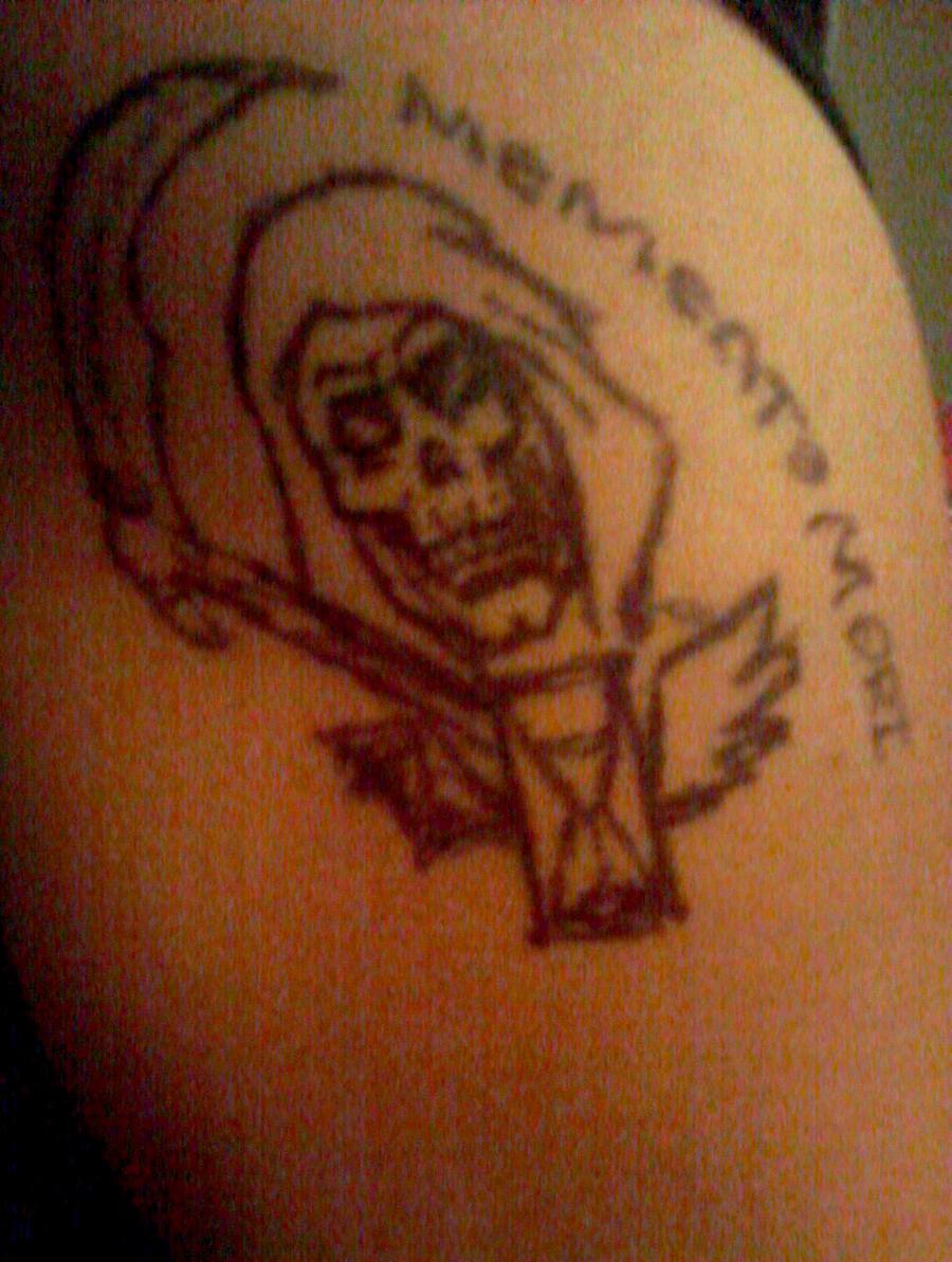 Memento Mori Tattoo By XXlove-is-orangeXx On DeviantART