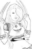 X23 Line Art by mindywheeler