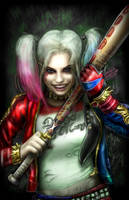 Suicide Squad Harley Quinn by mindywheeler
