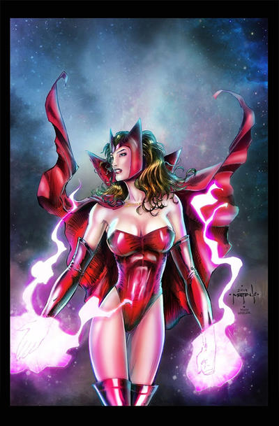 Scarlet Witch - Jason Metcalf/Mindy Wheeler by mindywheeler
