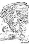 Dorothy Line Art