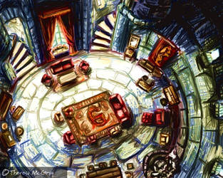 The Gryffindor Common Room by mcgray