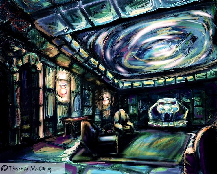 The Slytherin Common Room By Azellessa On Deviantart
