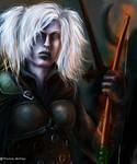 Female Drow, Archer