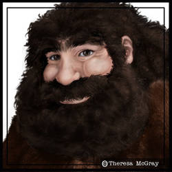 Rubeus Hagrid by mcgray