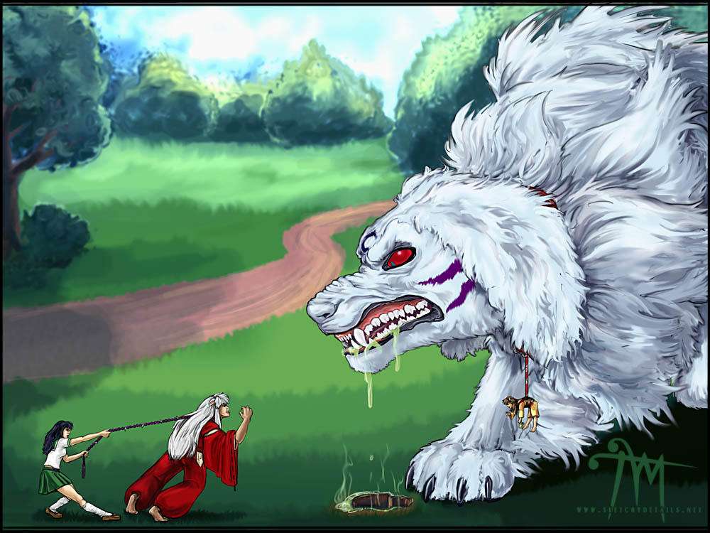 http://fc02.deviantart.net/fs11/i/2006/211/3/6/Inuyasha___A_Walk_in_the_Park_by_mcgray.jpg