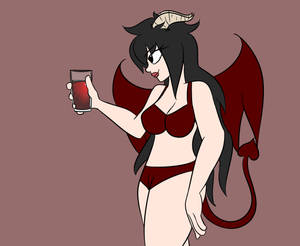 Laira with a DRINK this time