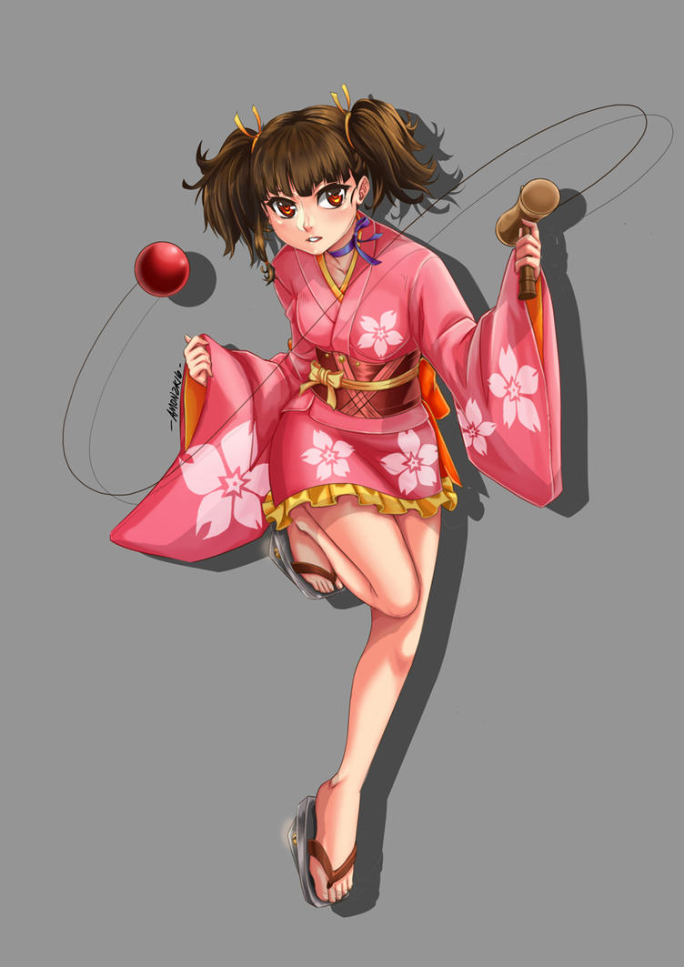Mumei Fan Art by Ah-Mon