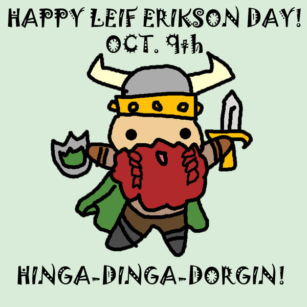 Leif Erikson Day by