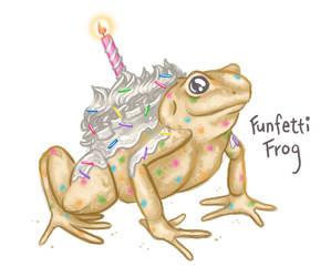 Funfetti Frog