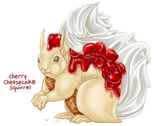 Cheery Cheesecake Squirrel