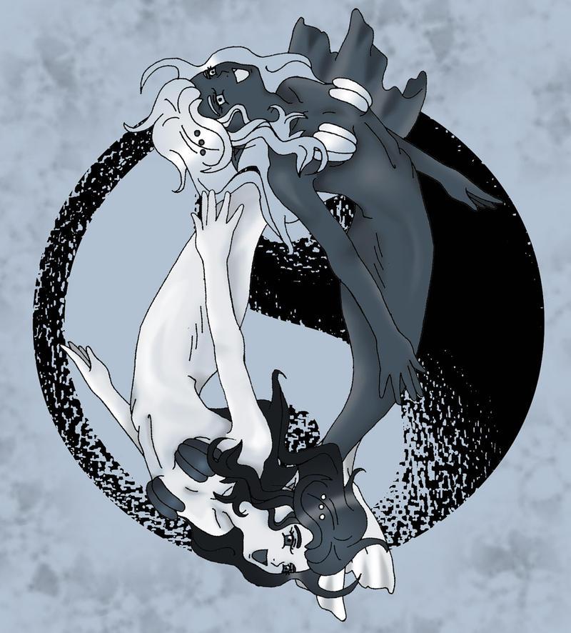 Yin and Yang by Nine-Tailed-Fox