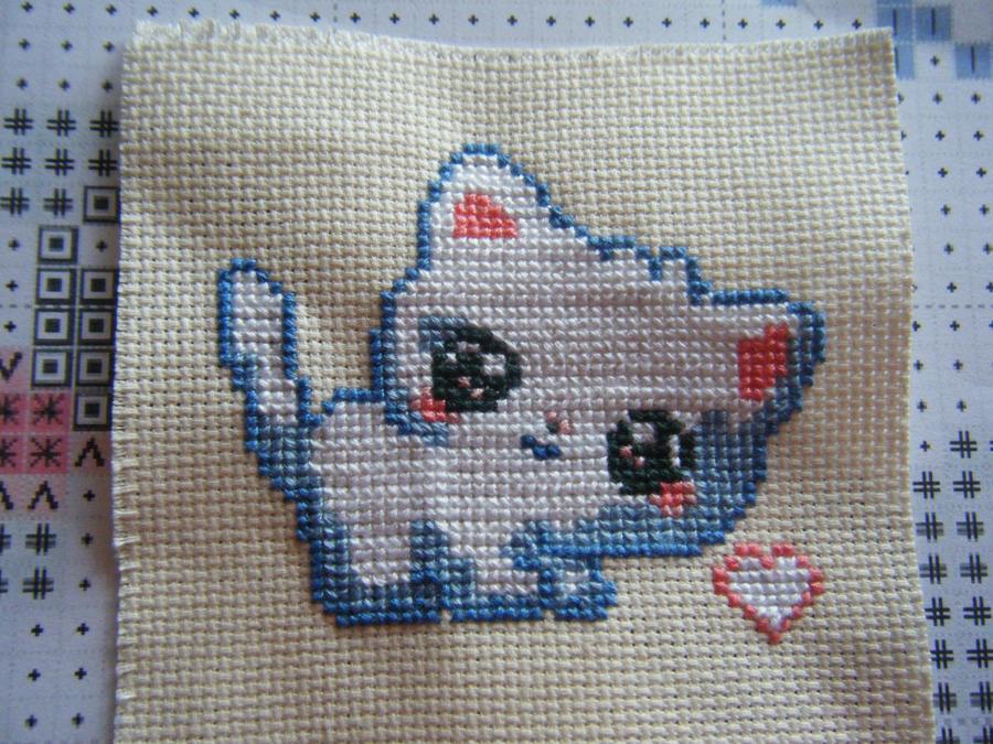 Shiro Kitty by AnimeLoverblonde09