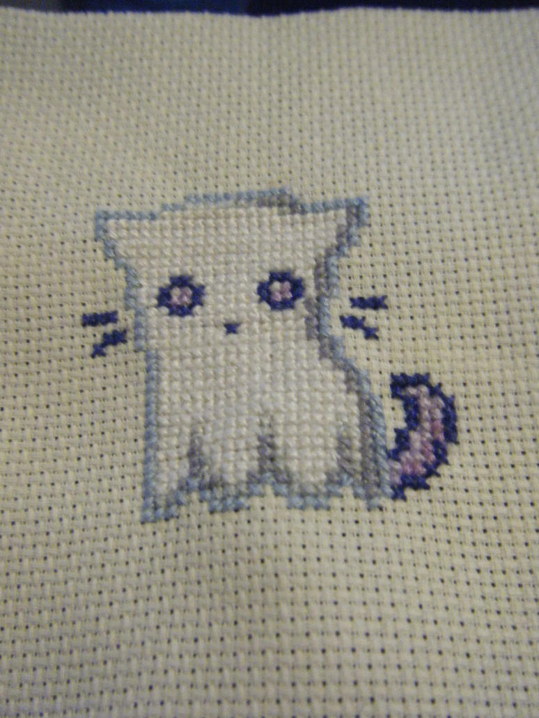 Ghost Cat by AnimeLoverblonde09