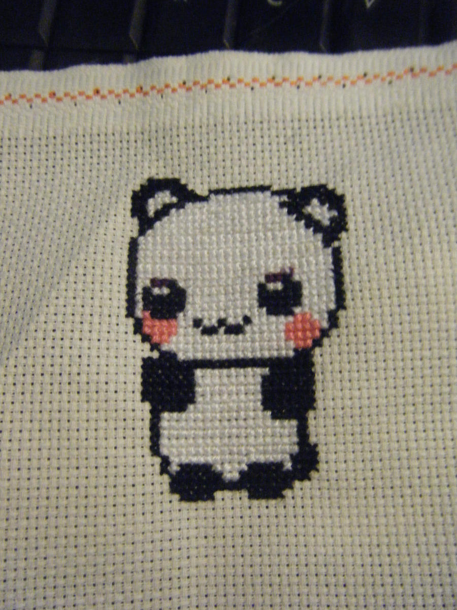 Panda by AnimeLoverblonde09
