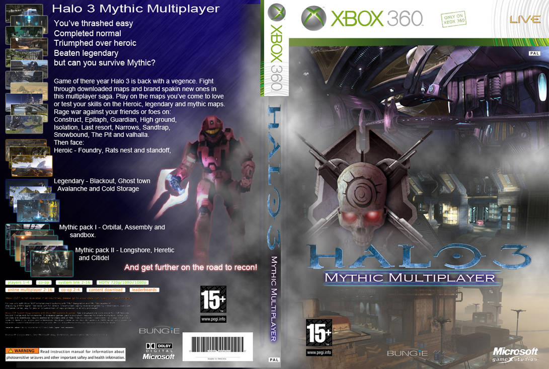Halo 3 mythic box fan art by Chixaelm on DeviantArt