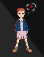 Eleven // Stranger Things by fandomdork