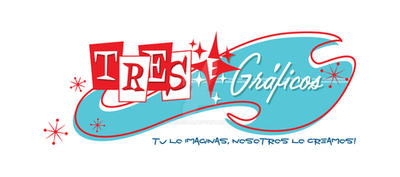Tres e Graficos Logo
