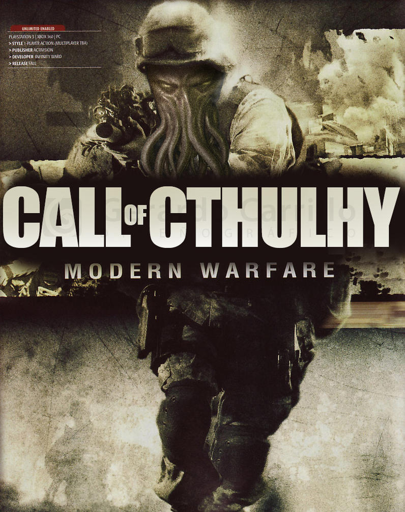 Call of Cthulhy by LDGSherar