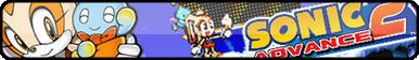 Sonic Advance 2 Fan Button by OrageSpark