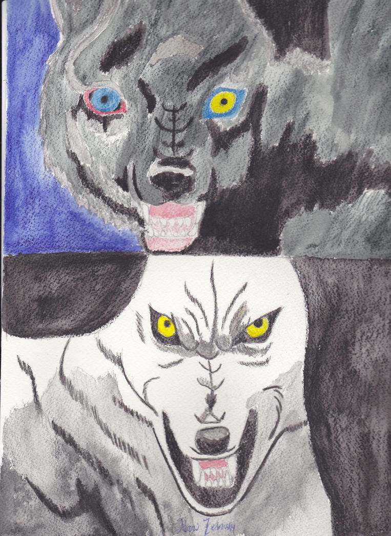 Heavens  a Lie Wolf's Rain by ponygirl74