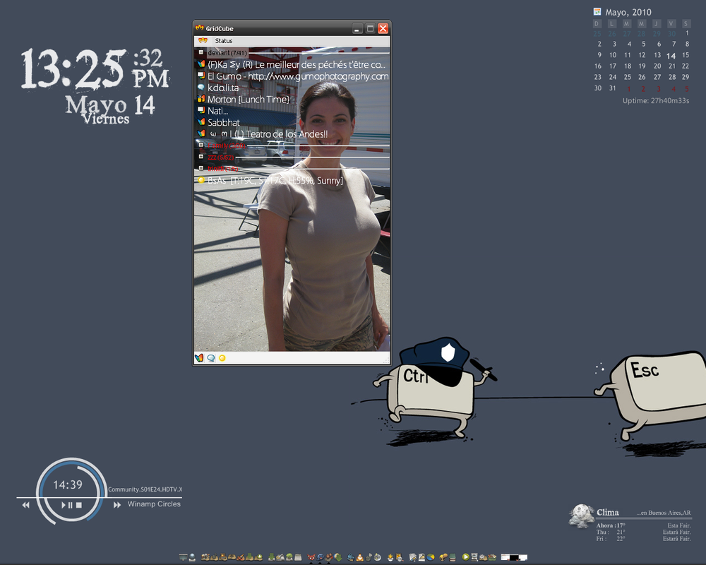 desktop 14-05-2010 by gridcube