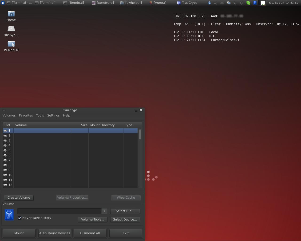 Unit193's Desktop at 17th of September of 2013
