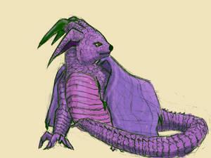 A Purple Dragon