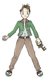 Pokemon Trainer Mike by Janna--San