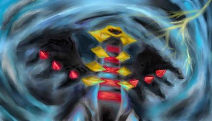 Giratina Dimension Beast by Janna--San