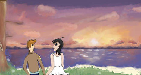 Ando and Kara by Janna--San