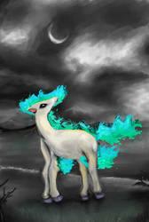 Shiny Ponyta by Janna--San