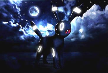 Umbreon The Moonlight Pokemon by Janna--San