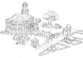 Medieval Map by joelsaavedra