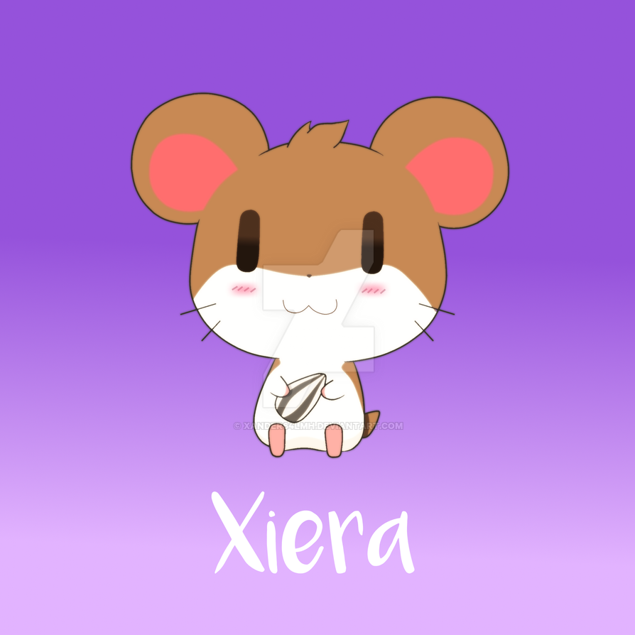XieraTheHamster by xander64lmh
