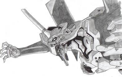 Evangelion Noir by SC-Yoshimitsu