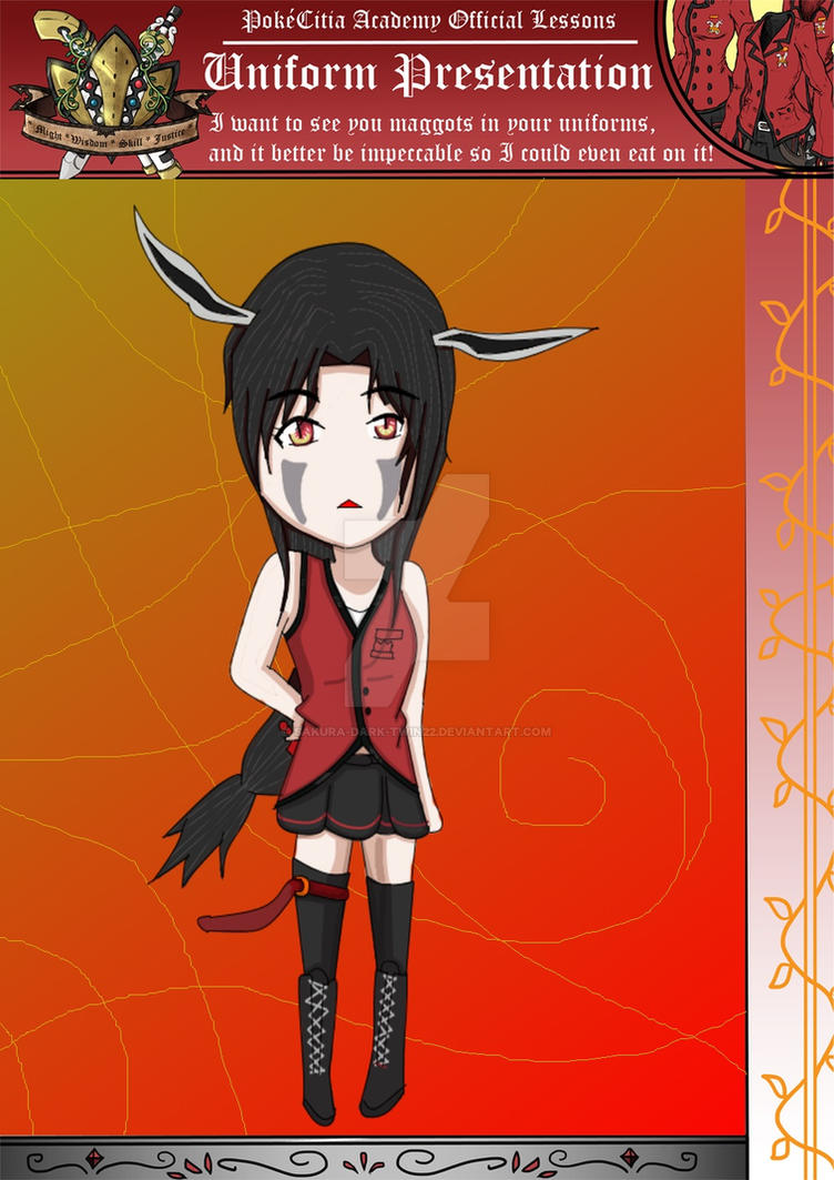 Ciara Uniform by sakura-dark-twin22