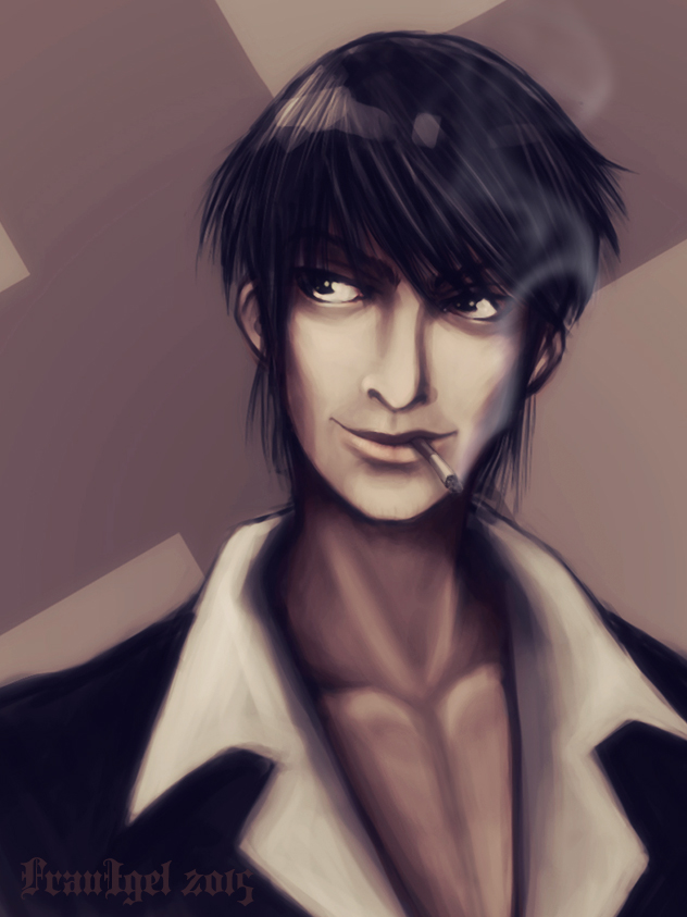 Nicholas D. Wolfwood by Arimna