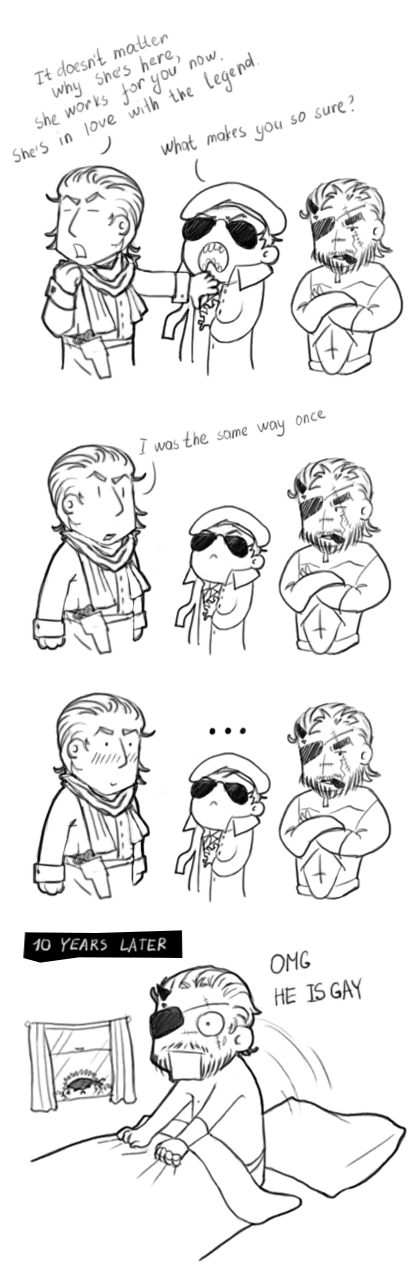 MGS In love with the legend *SPOILER* by Arimna