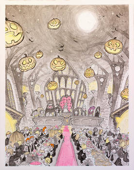 Inktober 2015 The Great Hall