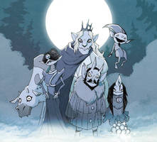 The King and his Court by Natesquatch