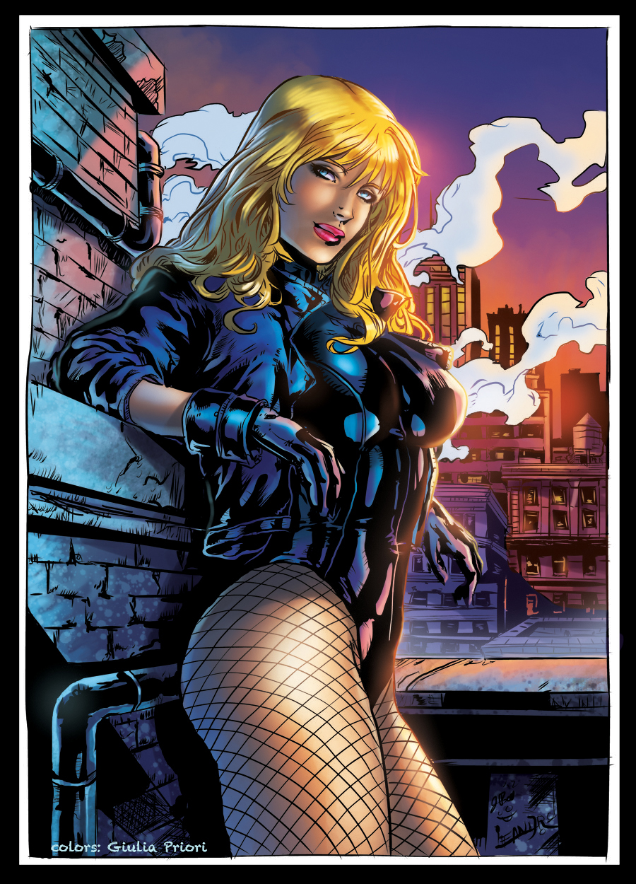 Black Canary Color by GiuliaPriori on DeviantArt
