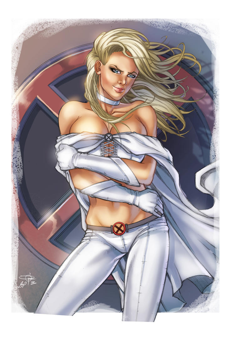 Emma Frost Collaboration By Giuliapriori On Deviantart