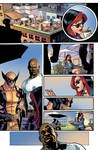 The New Avengers Page Colors