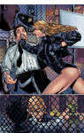Black Canary Page by Paulo Siqueira Colors