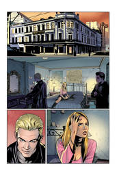 BUFFY Comics Color exercise